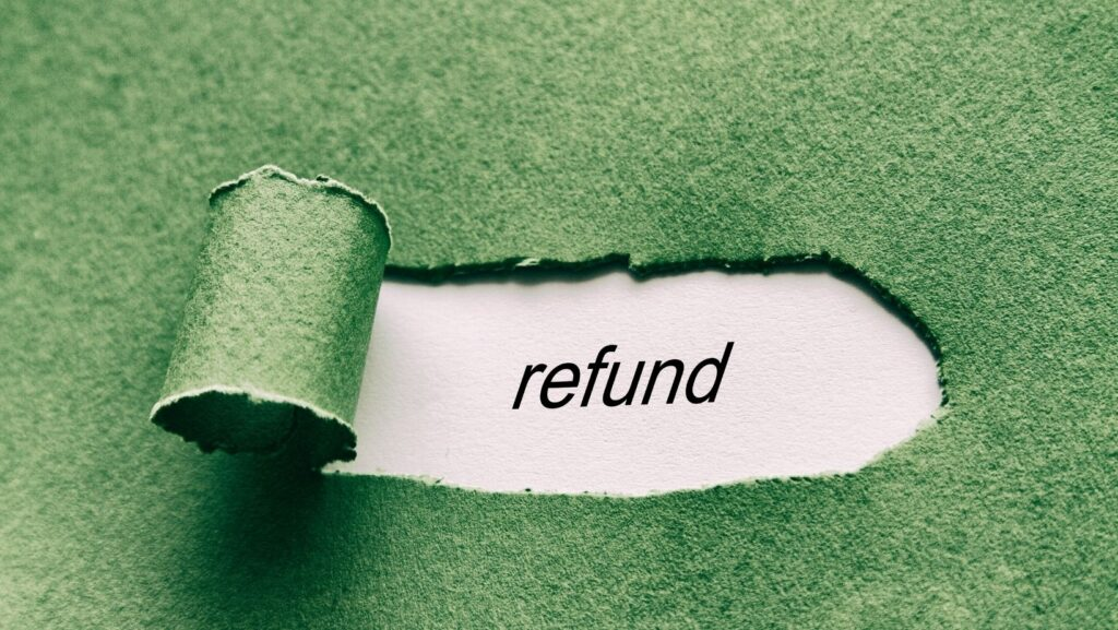 check the refund policy